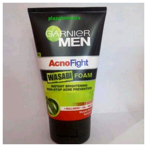 Garnier Acno Fight Serum jual garnier acno fight wasabi foam plazalumonza