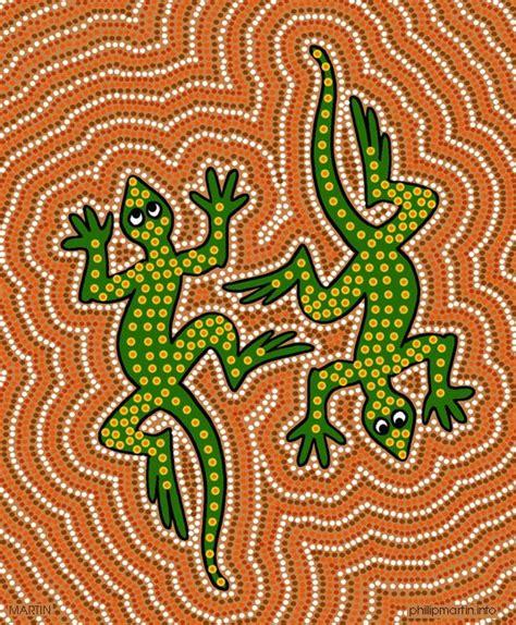 aboriginal craft for aboriginal animals stippling pointillism