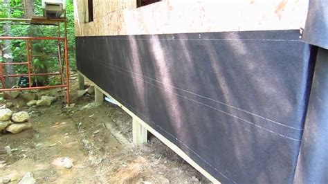 Shed Lining Paper by Tar Paper Facts