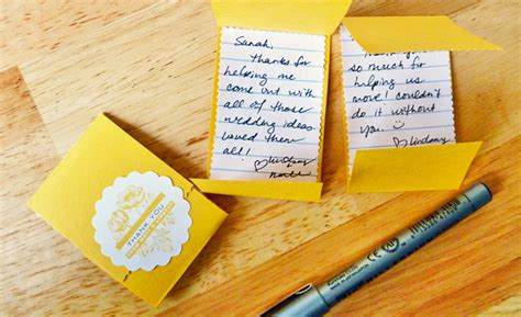 personalized diy thank you cards evermine blog