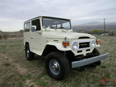 original land cruiser 1976 toyota land cruiser fj40 beautiful brand new stock