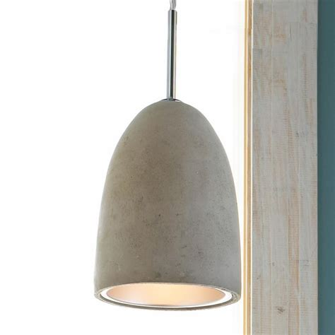 Concrete Pendant Light Mini Concrete Dome Pendant Light