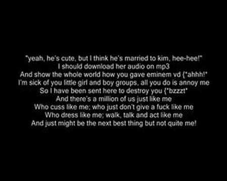 eminem the real slim shady lyrics eminem the real slim shady music and lyrics youtube