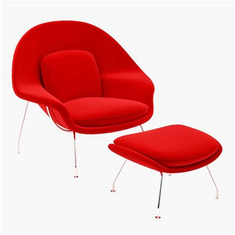 Vitra Miniature Womb Chair by Eero Saarinen   Stardust