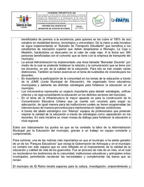 rendicin premio alfaguara de informe de rendici 243 n de cuentas medios electr 243 nicos el retiro