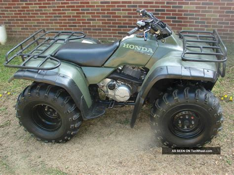 1999 honda fourtrax 300 4x4