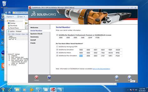 tutorial solidworks crack problem installing solidworks 2013 x64 edition sp04 grabcad