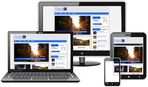 responsive layout youtube beastin lite free wordpress theme mythemes4wp
