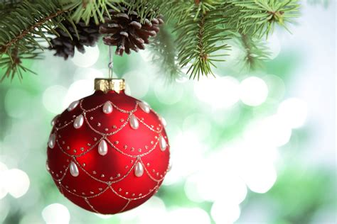christmas tree balls wallpaper new year new year tree balls branches conifer cone