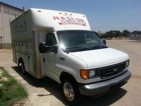 Used Plumbing Vans For Sale by Purchase Used 2005 Ford Econoline E 350 Duty Drw