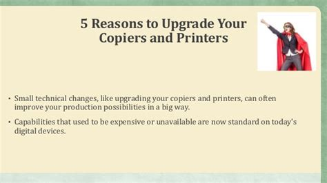 7 Reasons To Update Your Work Out by Why Upgrade Your Copier