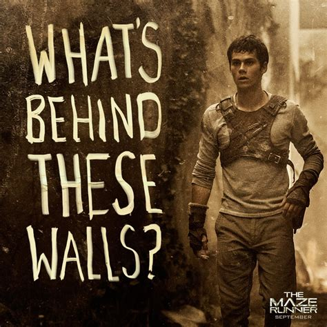 maze runner film order dylan o brien as thomas in the maze runner release date