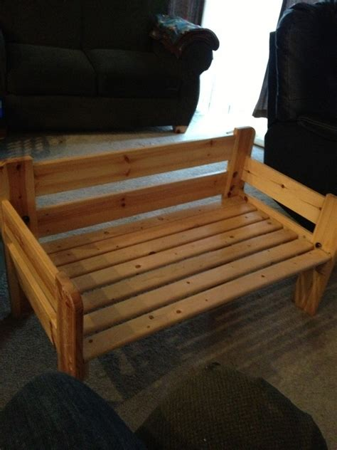 bed into bench twin bed frame made into a bench benches pinterest