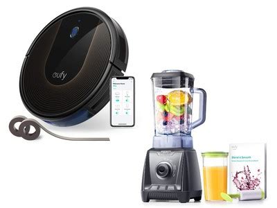 receive a free high speed blender with the 300 eufy robovac 30c robot vacuum cleaner receive a free high speed blender with the 300 eufy