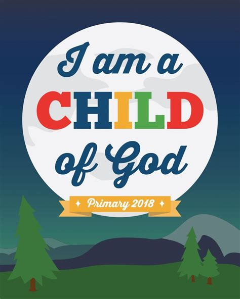 themes in god help the child free printables for the 2018 lds primary theme i am a