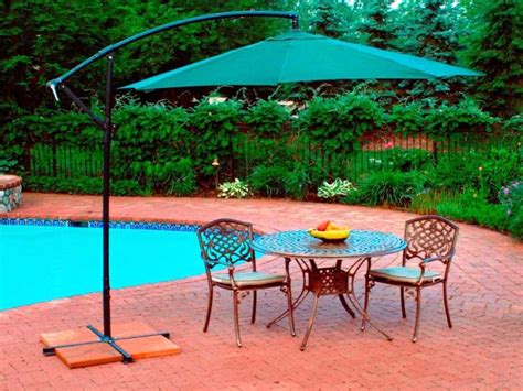 Patio Umbrella Set Best Patio Set With Umbrella Outdoor Decorations