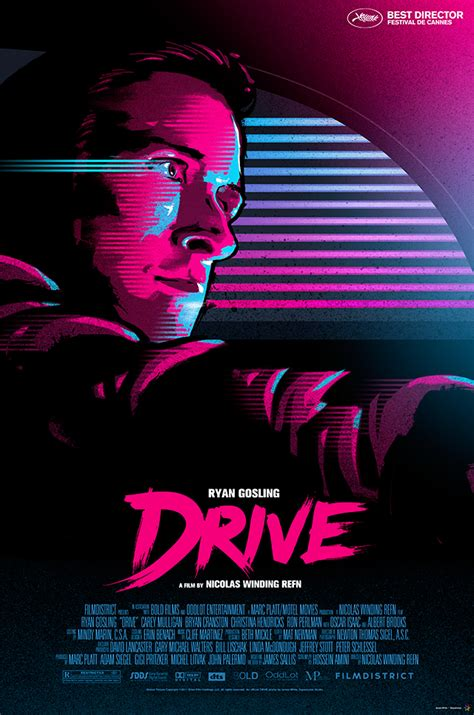 drive movie poster by jleeisme on deviantart drive movie poster on behance
