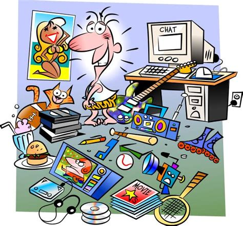 messy bedroom cartoon cluttered room clipart www imgkid com the image kid