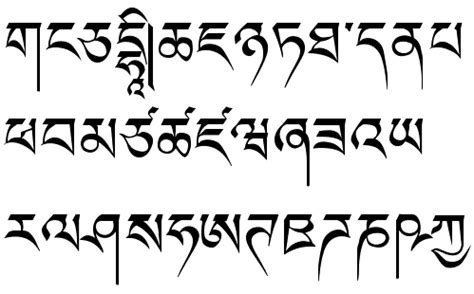 dafont urdu tibetan language fonts