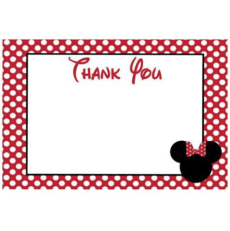 minnie mouse card templates minnie mouse card templates 3 best professional
