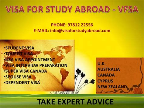 student visa requirements for study in canada vfsa services vfsa visa for study abroad deals in