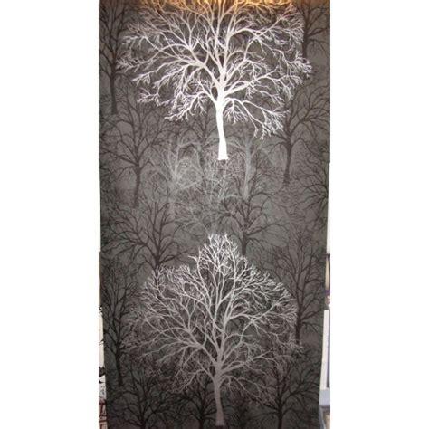 black wallpaper  silver trees gallery