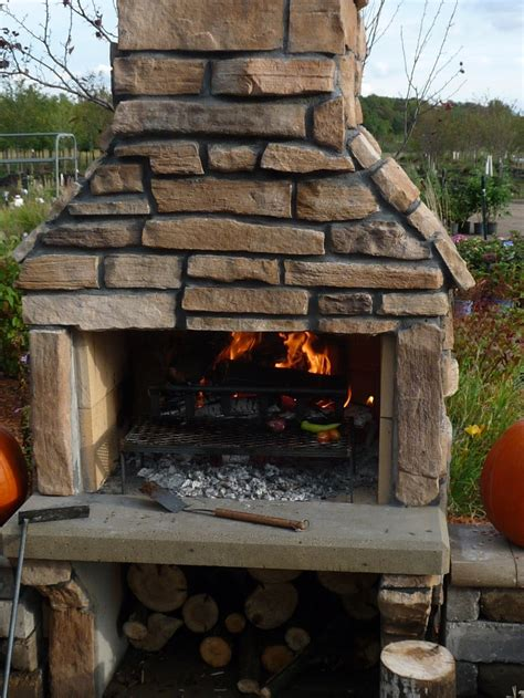 Outdoor Fireplace And Grill - outdoor ambiance minnesota made affordable outdoor fireplaces and grills
