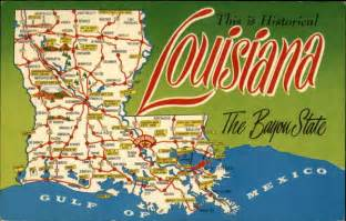 Louisiana Bayou Map by Louisiana Quot The Bayou State Quot Maps