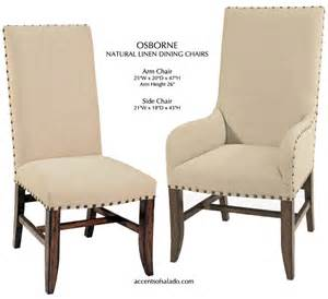 Old world tuscan dining room chairs linen dining room chairs
