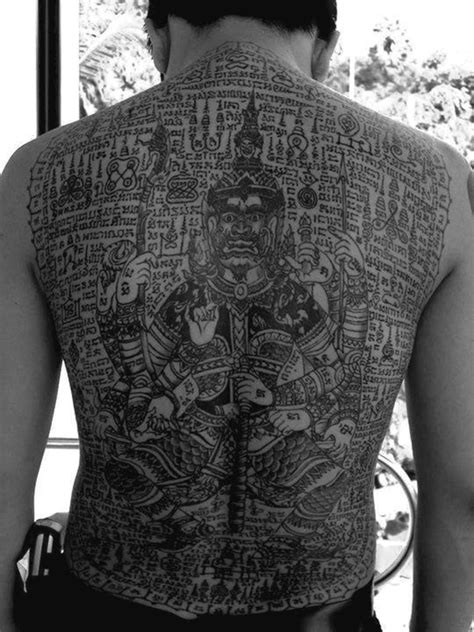 thai tattoos designs 40 traditional thai designs