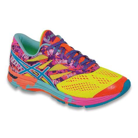 asics rainbow running shoes jet asics s gel noosa tri 10 running shoes t580n