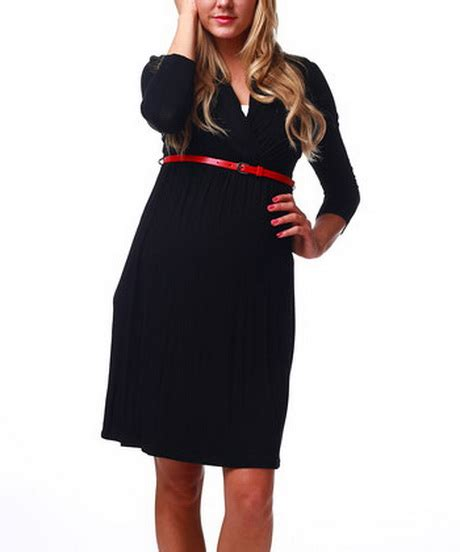 belted maternity dress