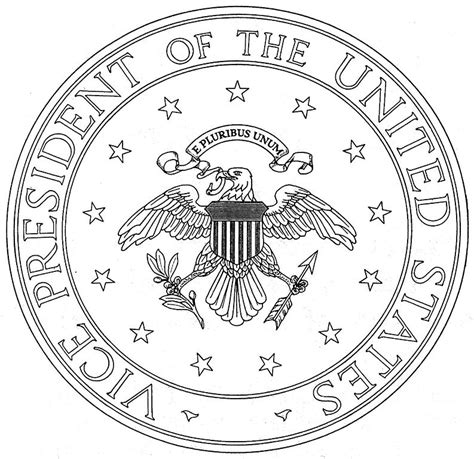 united states seal coloring page great seal of the united states free coloring pages