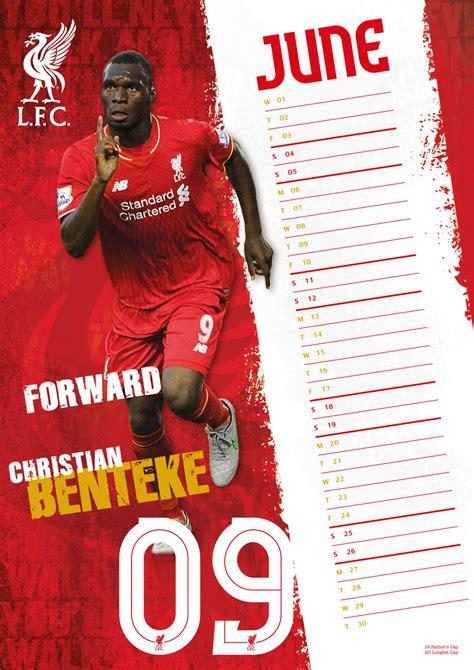Calendario Liverpool Calendario 2017 Liverpool Fc Europosters It