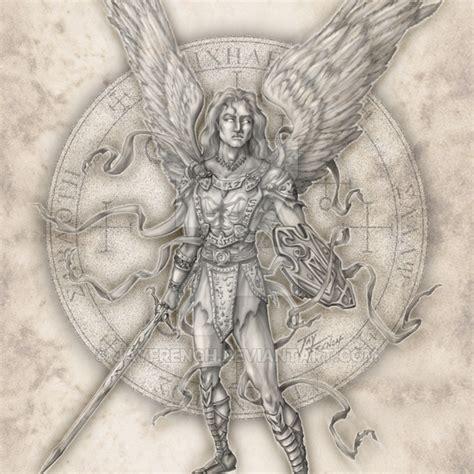 angel uriel tattoo archangel michael by jayfrench on deviantart