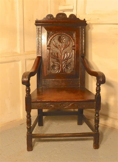 Wainscot Chairs For Sale by 17th Century Carved Oak Wainscot Chair Antiques Atlas