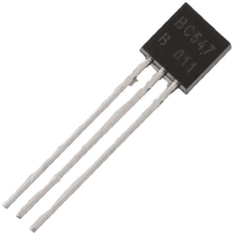 what is the function of bc547 transistor bc547 npn transistor faranux electronics