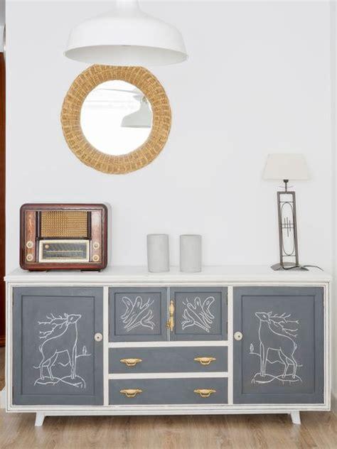 muebles  se transforman  pintura  la tiza