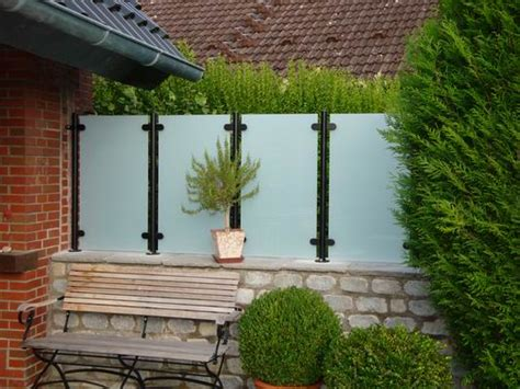 x press terrassen befestigungssystem terrassen sichtschutz glas xu12 hitoiro
