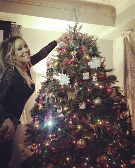 celebrity christmas trees see the best decorations for