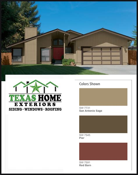 The Green Door San Antonio by Paint Colors Options Choice Home Exteriors
