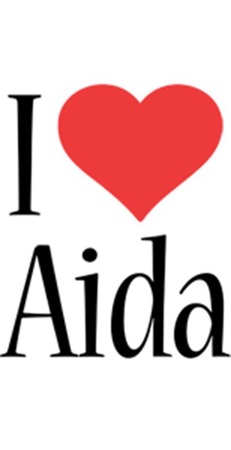 aida logo  logo generator  love love heart boots friday jungle style