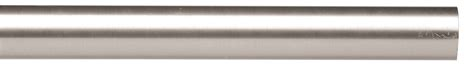 forest group drapery hardware 1 3 16 quot acero stainless steel pole