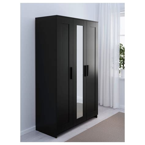 Brimnes Armoire by Brimnes Wardrobe With 3 Doors Black Marvelous 1