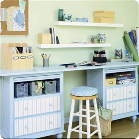 Diy Craft Space Love Diy Craft Desk With Storage