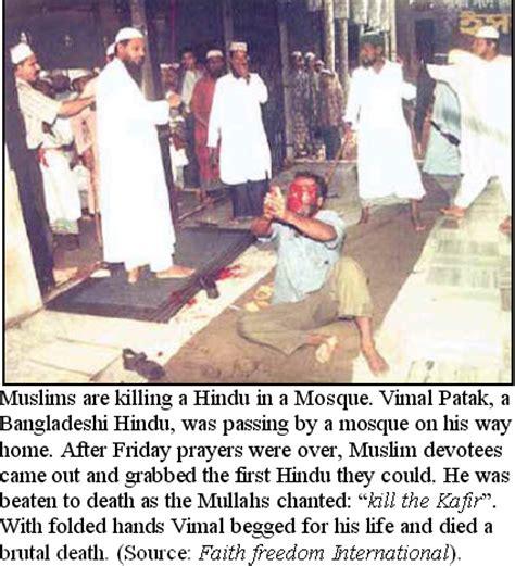 muslim atrocities against hindus (warning: graphic photo