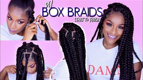 box braids rubber band method wont pull