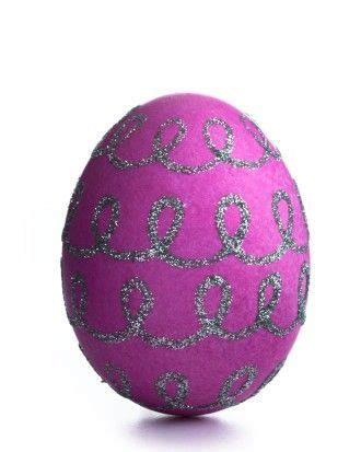 Purple glitter easter eggs hip hip hooray for holidays pinterest