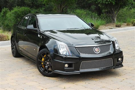 Cts V Black by 2011 Cadillac Cts V Black Edition Review Test Drive