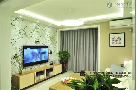 Living Room TV Wall Design   Home Wallpaper Designs